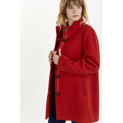 Manteau laine 5 boutons
